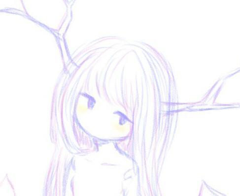 女の子アイコンお描きします ふんわりとした絵本のような女の子のアイコンを描きます
