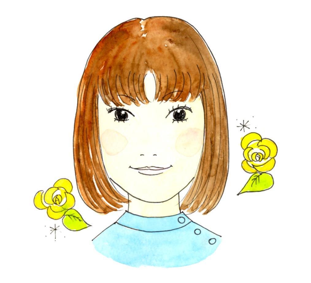 シンプルかわいい手描き似顔絵お描きします 人とは違うあたたかい似顔絵をアイコン・プレゼントにどうぞ!