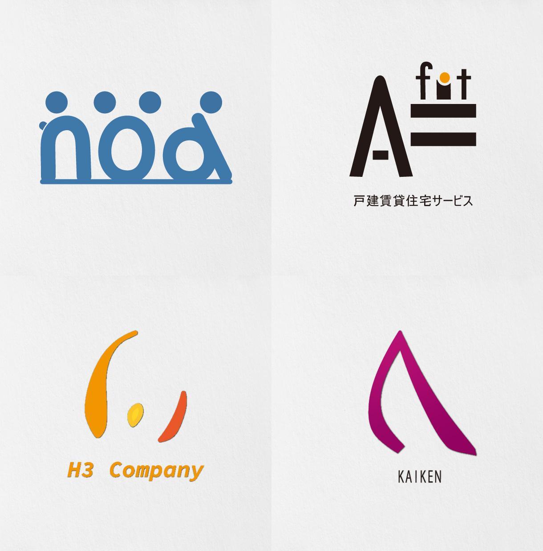 ユニークで印象的なロゴを制作致します シンプルだけどもユニークで印象に残るロゴを制作致します! イメージ1