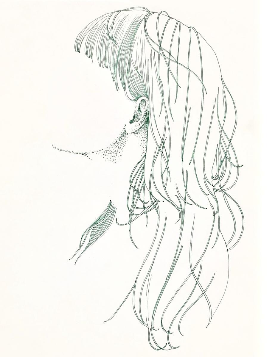 ペン画イラスト描きます シンプルでシュールなイラスト制作 イメージ1