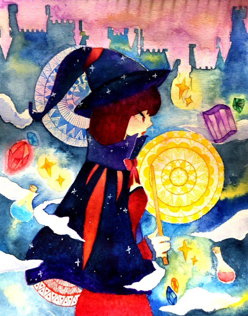 色々な用途に適したイラスト描きます 透明水彩で温かみのある絵とペン画で不思議な世界観の絵