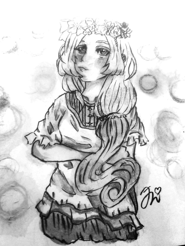 イラスト描きます(*'▽'*)♪