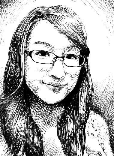 写真からボールペン画風イラスト描きます!似顔絵・アイコンとしても