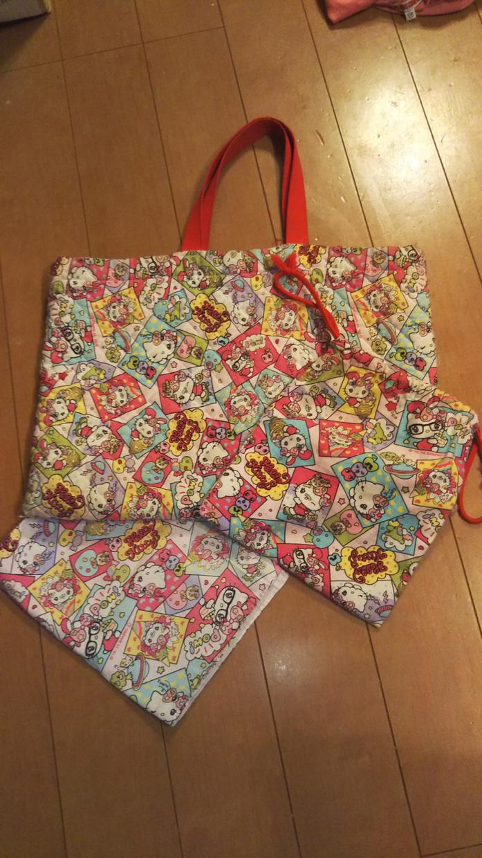 幼稚園・保育園の手作りバッグ等を代わりに作ります 忙しくて時間がないママや、裁縫が苦手なママのために!