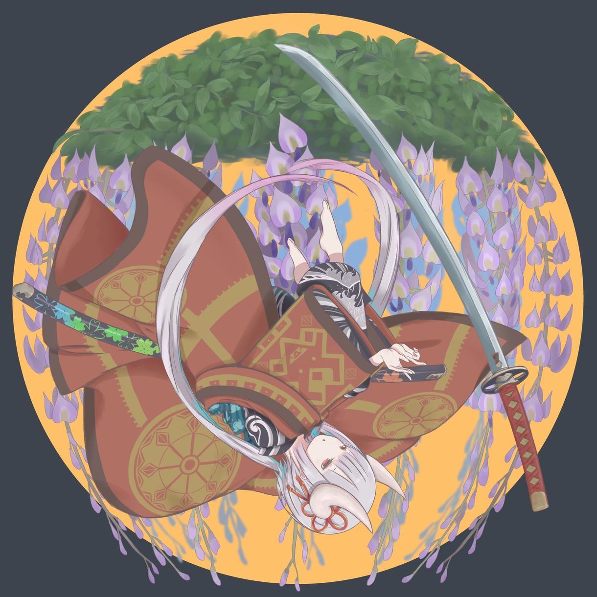 和風、ファンタジー系イラストのご依頼承ります どこか非日常な絵を描かせていただきます。