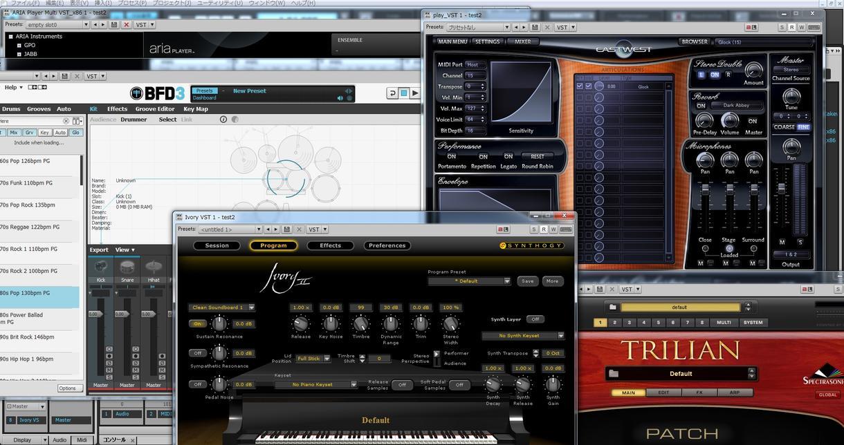打ち込み音楽によるアレンジ(編曲)などします 低価格で高品質な音をお届けします。 イメージ1