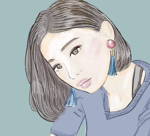 似顔絵イラスト描きます シンプルでおしゃれな似顔絵イラストを安く提供します!