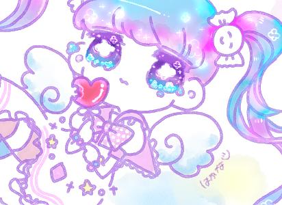 ゆめかわいい☆イラスト描きます SNSのアイコンや、ヘッダー、動画素材におすすめ☆