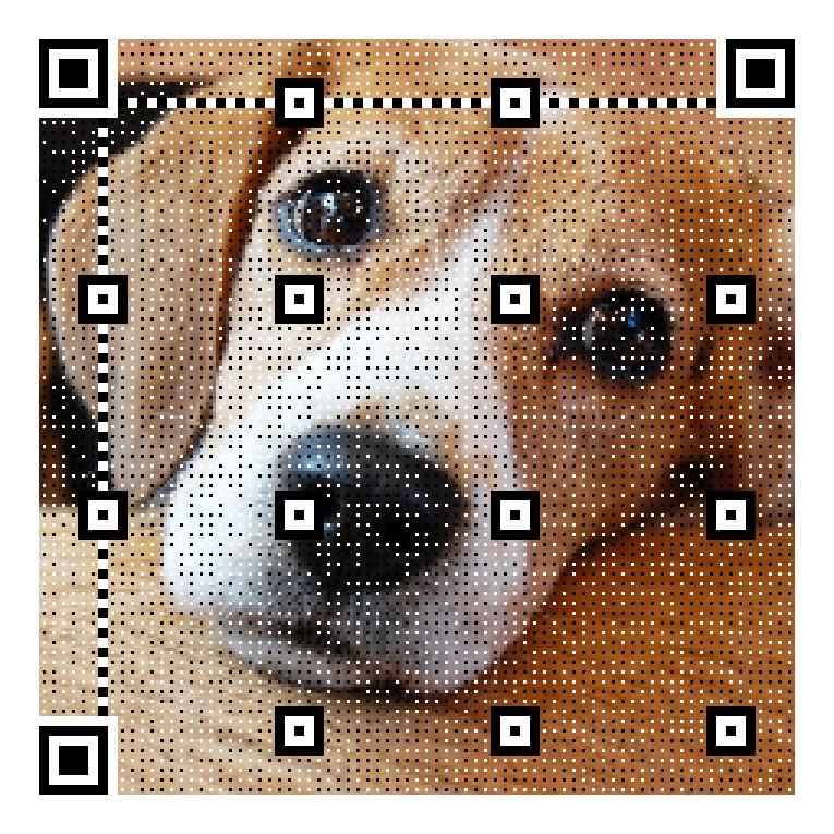 イラスト・写真入りQRコードを作成します 思わず目を引くようなQRコードが欲しいと思ったら!