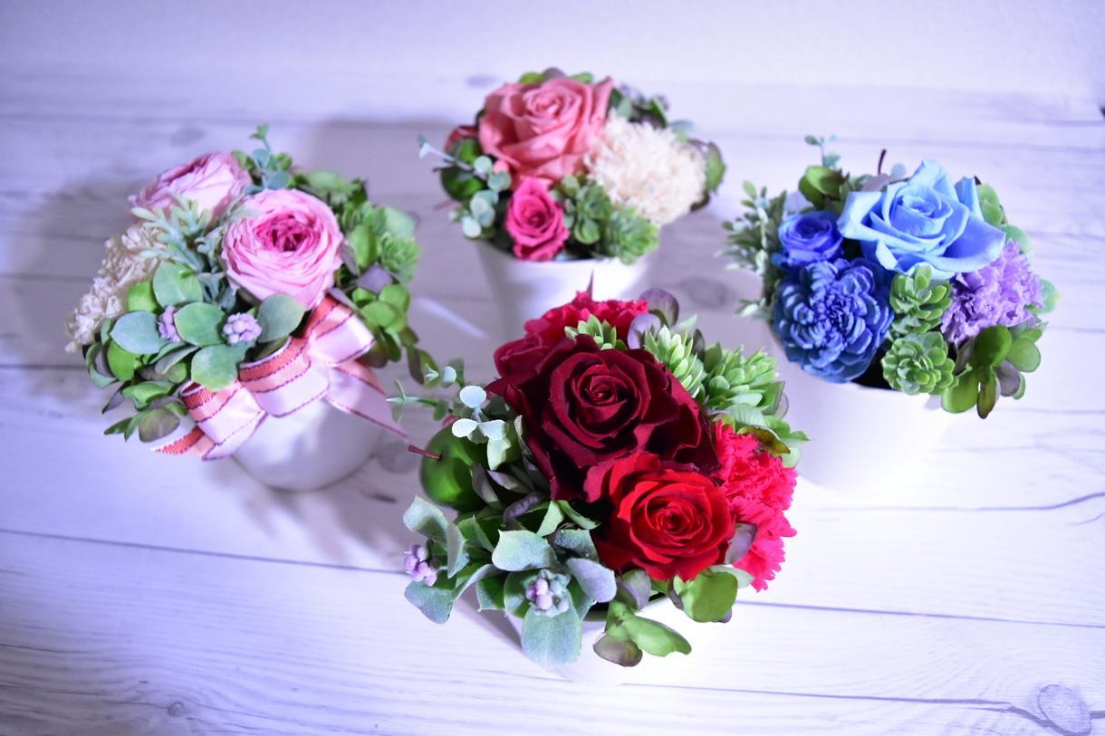 フラワーアレンジメントを作製します プレゼントや結婚式にご希望のものを♪