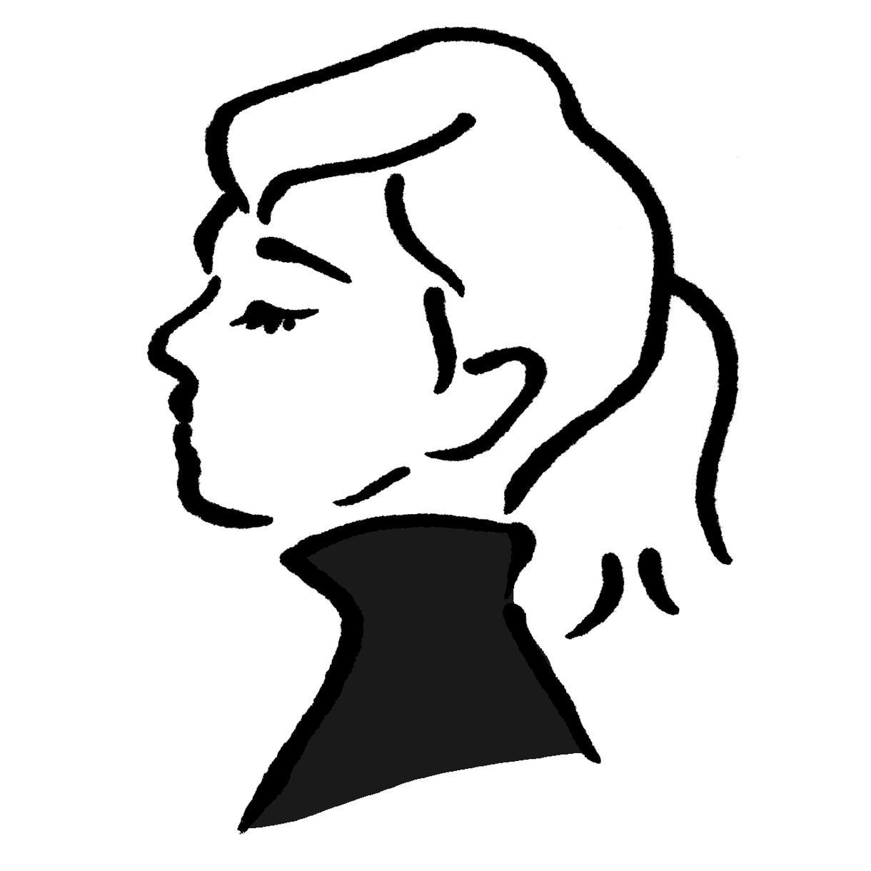 太めのシンプル線で可愛らしくイラスト描きます 似顔絵、アイコン、印刷物への挿絵など、広くご利用いただけます
