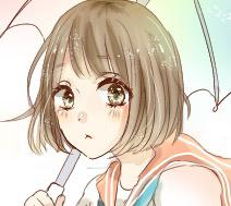 少女漫画風アイコン描きます SNS用に!キラキラな女の子のアイコン