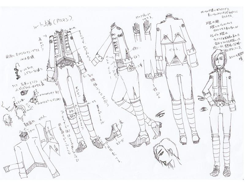 あなたのキャラクターの服装デザインします!