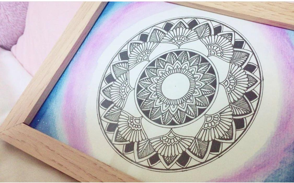 あなたのイメージに合わせて曼荼羅デザイン致します 大きさやカラー、オーダーメイドの曼荼羅原画をお渡し イメージ1