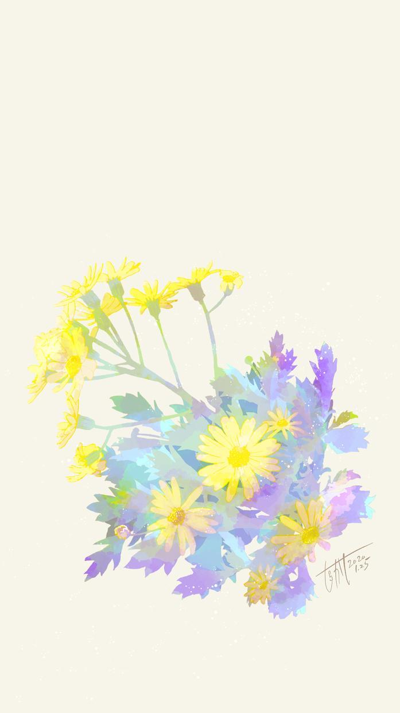 ホッとする花のイラスト描きます 四季を感じる花や自然のイラストをファンタジックに仕上げます
