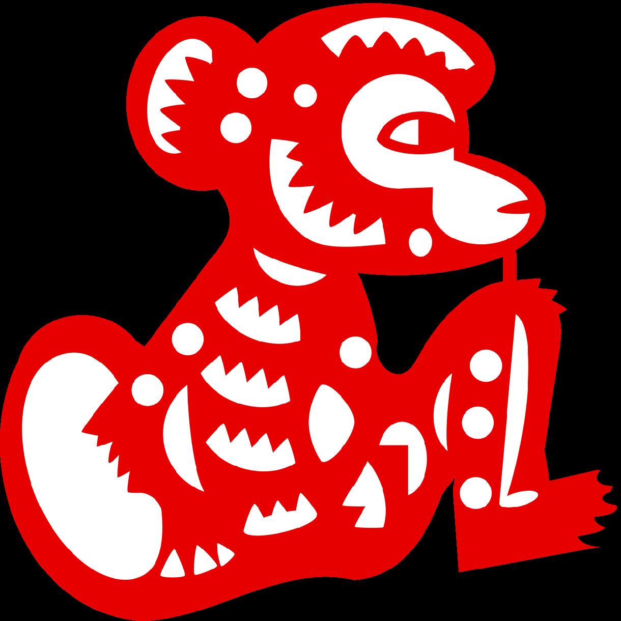 中国切り絵風のデザインします 他とは一味違った個性的なデザインを求めている方へ