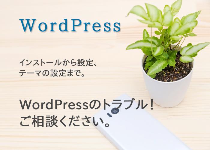 wordpressのインストール/設定を代行します 面倒なwordpressのインストールや設定をお任せ下さい。