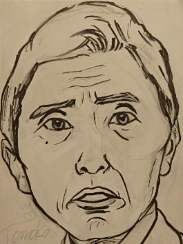 シロクロ似顔絵描きます ★ご自身の顔や大切な方の顔を描くお手伝いをします^^