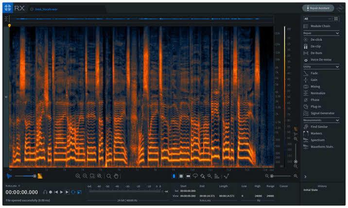 ボーカルピッチ補正、ノイズ除去等プロレベルでします 最新の技術であなたの声を最高の音源に仕上げます!最短即日! イメージ1