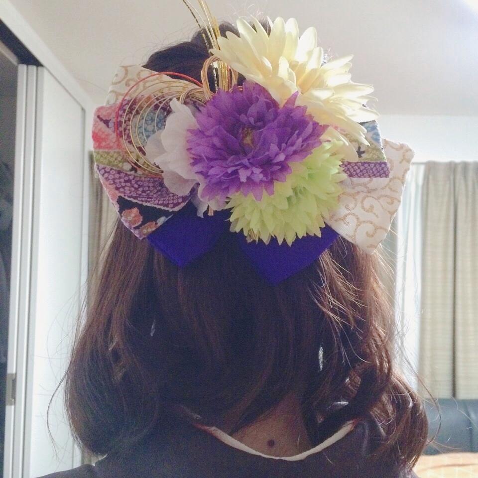 オリジナルの和装の髪飾り、作ります 成人式、卒業式など、和装の際の髪飾りにお悩みの方へ