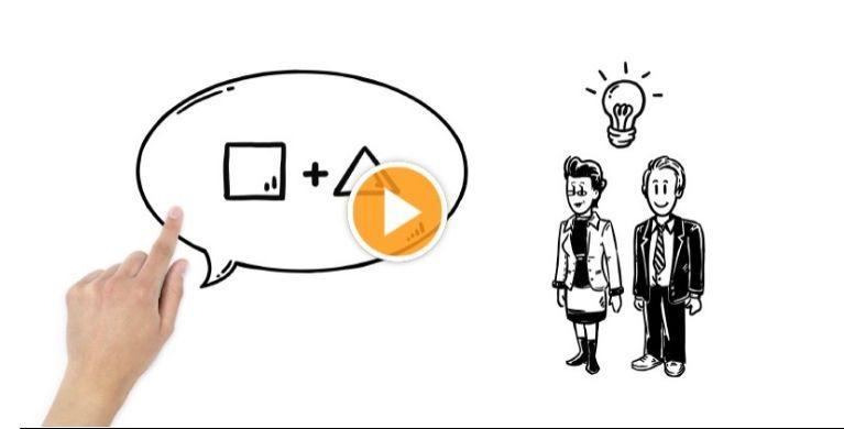 simpleshow風動画を作成します 難しいことも分かりやすく!説明・解説動画としてご使用下さい!