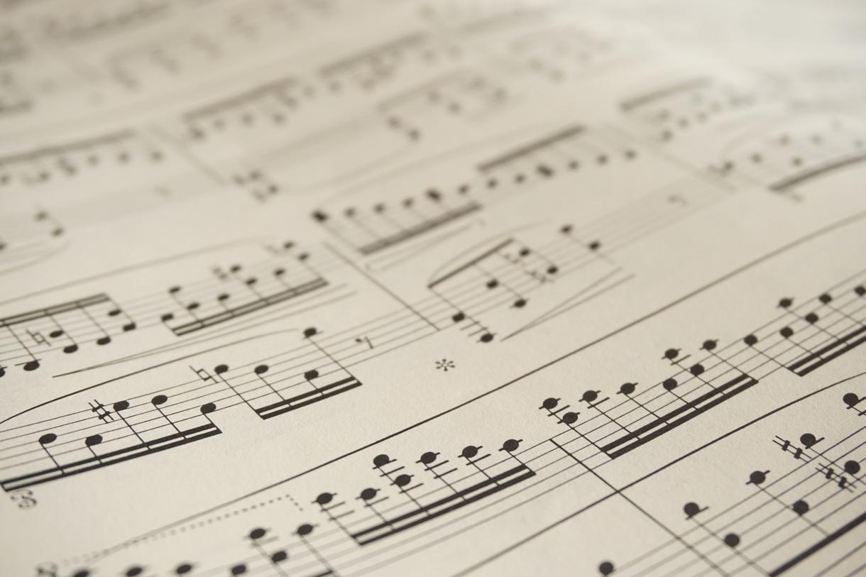 移調(キーチェンジ)した楽譜の作成をします サックスなどの管楽器など/歌のキー変更/手書き楽譜の清書 イメージ1