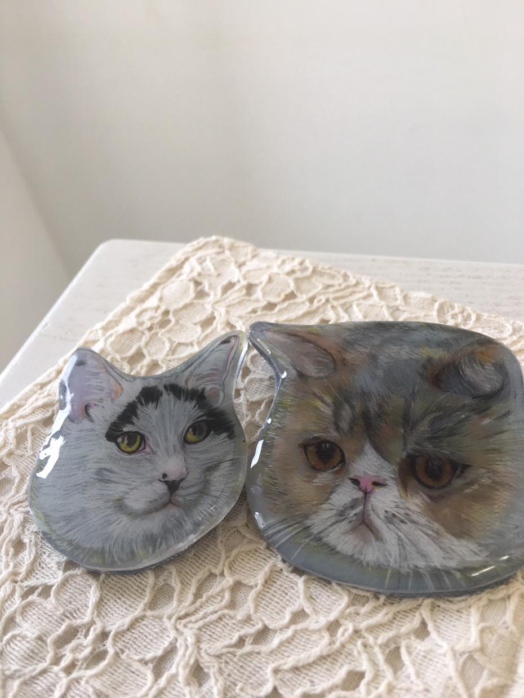 色鉛筆等で★オリジナル★の猫のイラスト描きます ペットの猫チャンも可です(o^^o)
