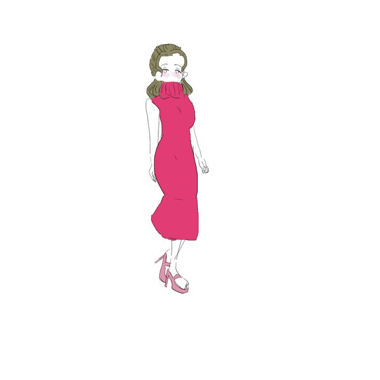 女子ファッション系のイラスト描きます かわいい系ファッションガールズ