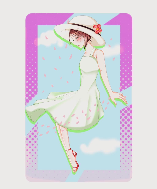 キラキラ可愛いあなただけのアイコン、お描きします 宝石のように輝いているキャラクターをプレゼント!
