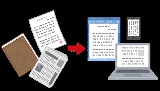 紙、画像、PDFファイル、を文字データ化します ★元SEがデータ化をお手伝い★即日対応可能★ イメージ1