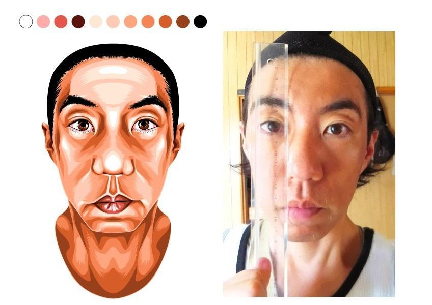 リアルな雰囲気でお描きします こちらはリアルな似顔絵用になります。