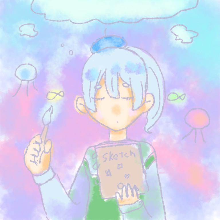 あなたをイメージしたほんわかしたアイコンを描きます SNSのアイコンにぜひぜひ!!!