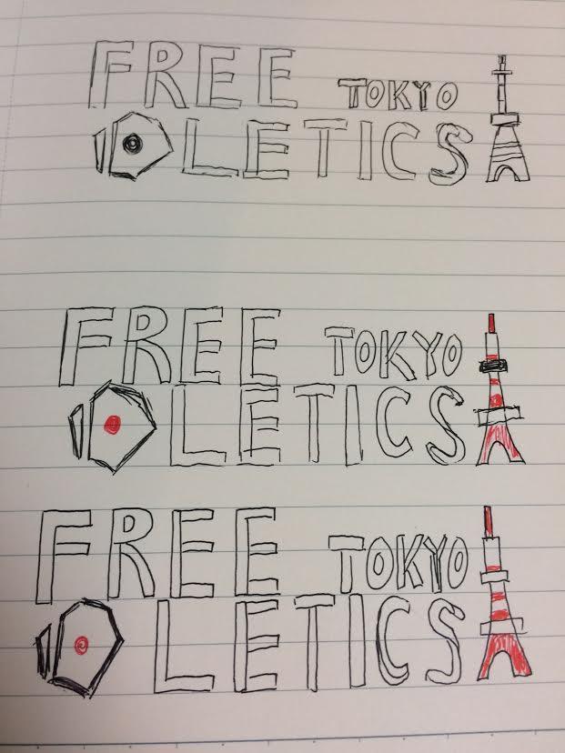 これからスポーツ団体を立ち上げる為にロゴ作成をします。