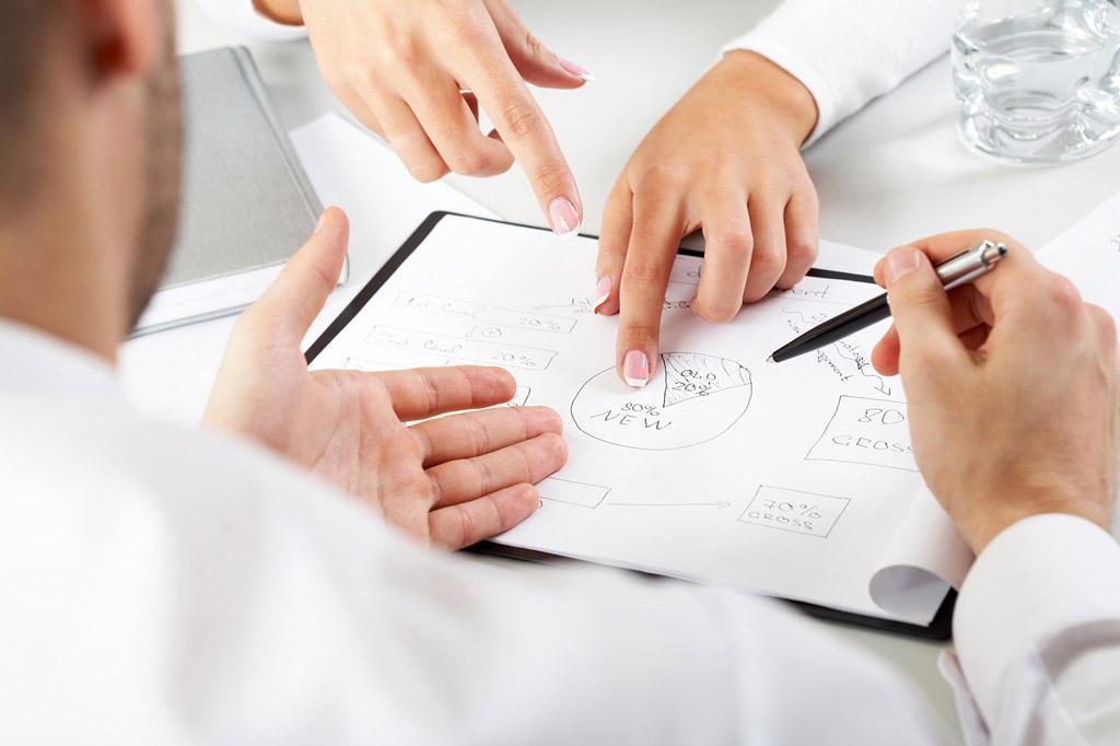 事業計画(簡易版)のサンプルデータをPDFでご提供致します。 イメージ1