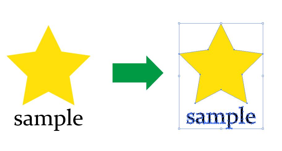 jpg等のロゴをベクターデータ(ai)におこします 使いまわせるロゴのデータがないときに!