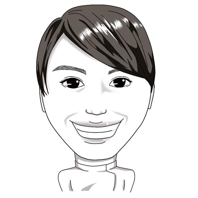 似顔絵作成します 誕生日のメッセージ用、結婚式用に作成します。