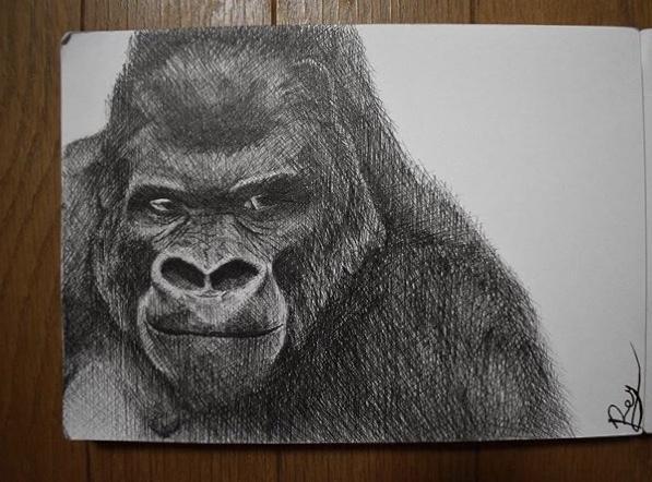 何度も見たくなるペン画描きます 細かい線でリアルかつオシャレなペン画をお届けします。