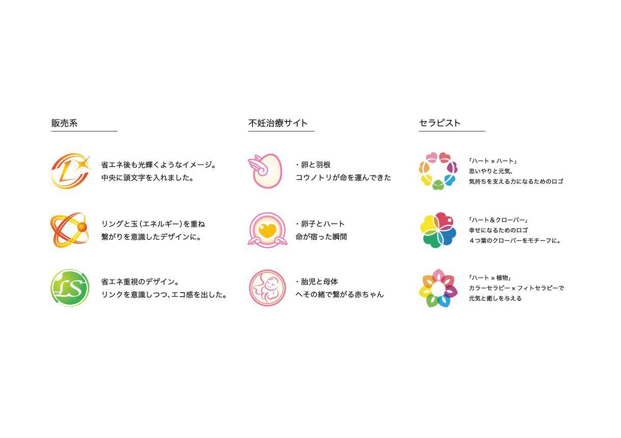 シンプル☆ポップ な丸系ロゴ作成いたします ★  <とことん相談OK!親切丁寧に対応いたします!>