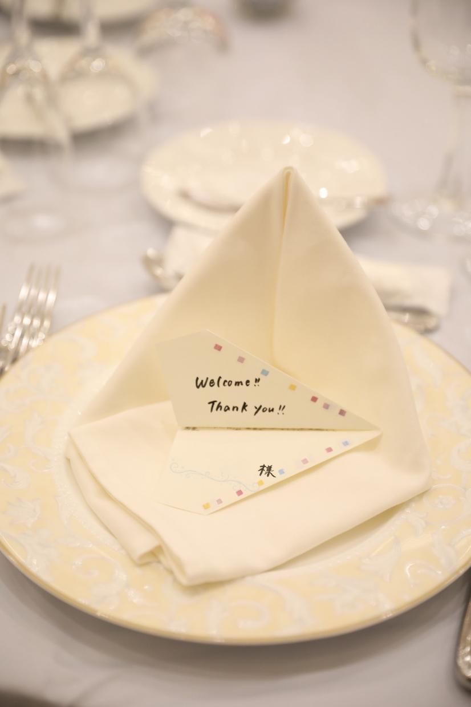 オリジナルの結婚式の席札作成します 名前だけでない、イラストや写真を使ったオリジナル席札を作成 イメージ1