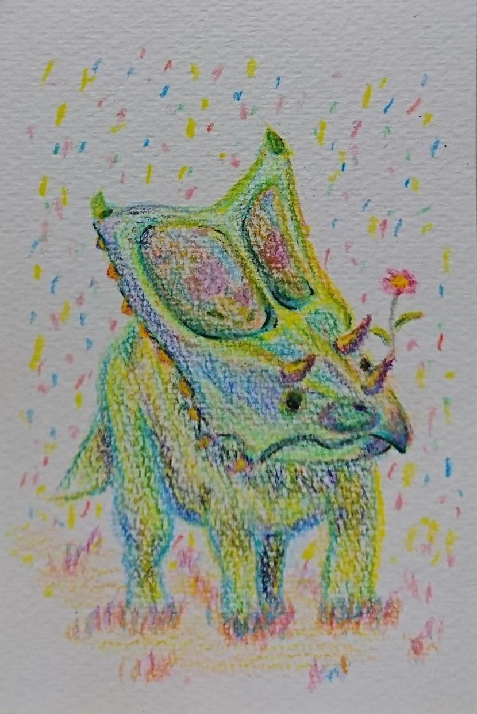 絵本に出てきそうな可愛く楽しいイラストお描きします 恐竜・動物! ほっこりするイラストで暖かい気持ちに! イメージ1