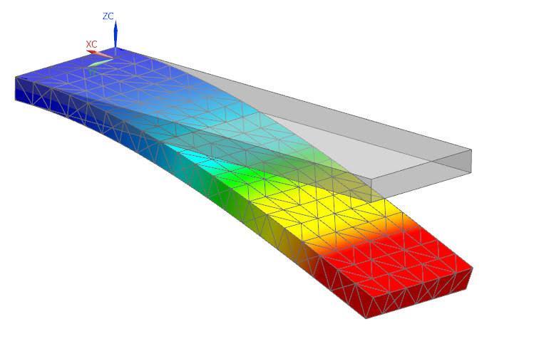 3Dデータ構造解析、強度検証、形状最適化します CAE、NASTRANにて構造解析実施、持ち込みデータ等 イメージ1