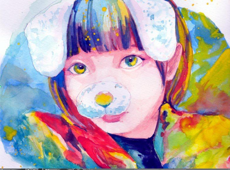 イラスト全般お描きします あなたのセルフィーやオリジナルキャラを素敵なイラストに!