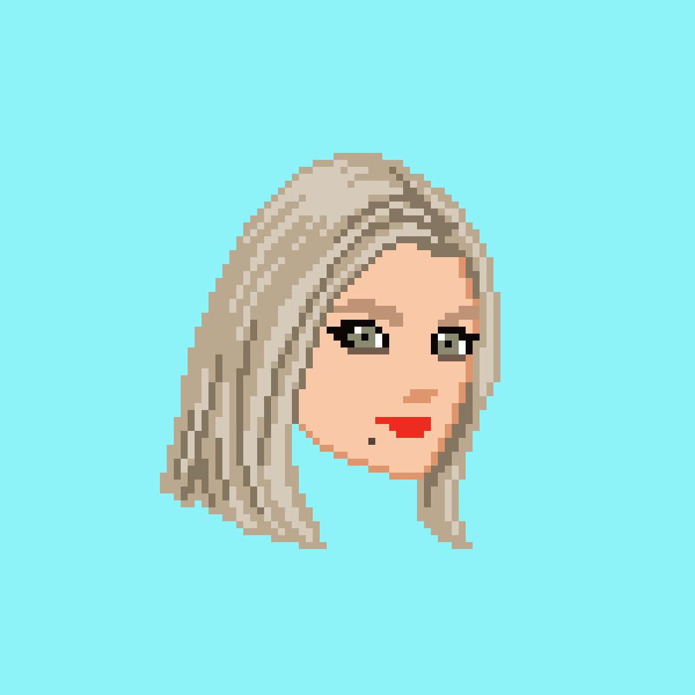 ドット絵で似顔絵を描きます SNSのアイコンや名刺用に、一味違った似顔絵はいかがですか? イメージ1