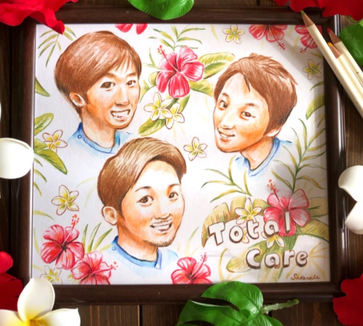 イラストやロゴデザイン、似顔絵を色鉛筆で描きます 食べ物、植物、似顔絵を主に色鉛筆でかわいく描いています。