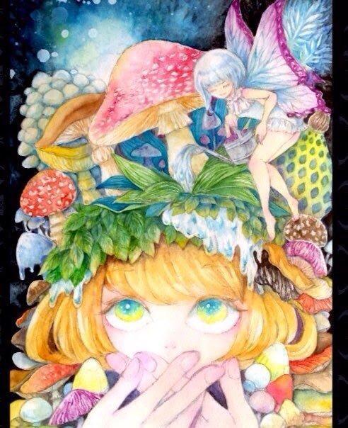 ファンタジックな水彩イラスト描きます 書籍、CD、動画 サムネ等を彩りませんか? イメージ1