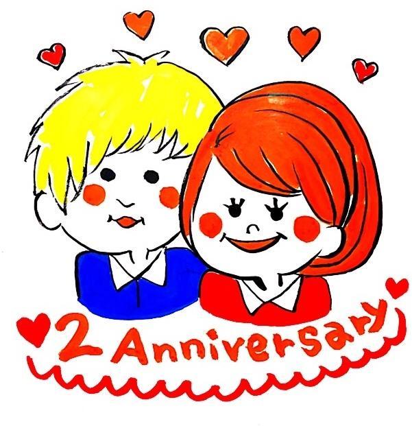 結婚お祝い・記念日のキャラクター制作します 雰囲気からお二人をキャラクターにします