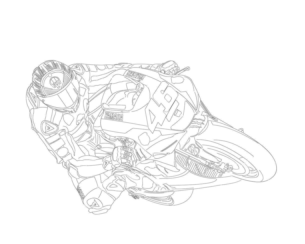 あなたの愛車(バイク)イラストにしませんか
