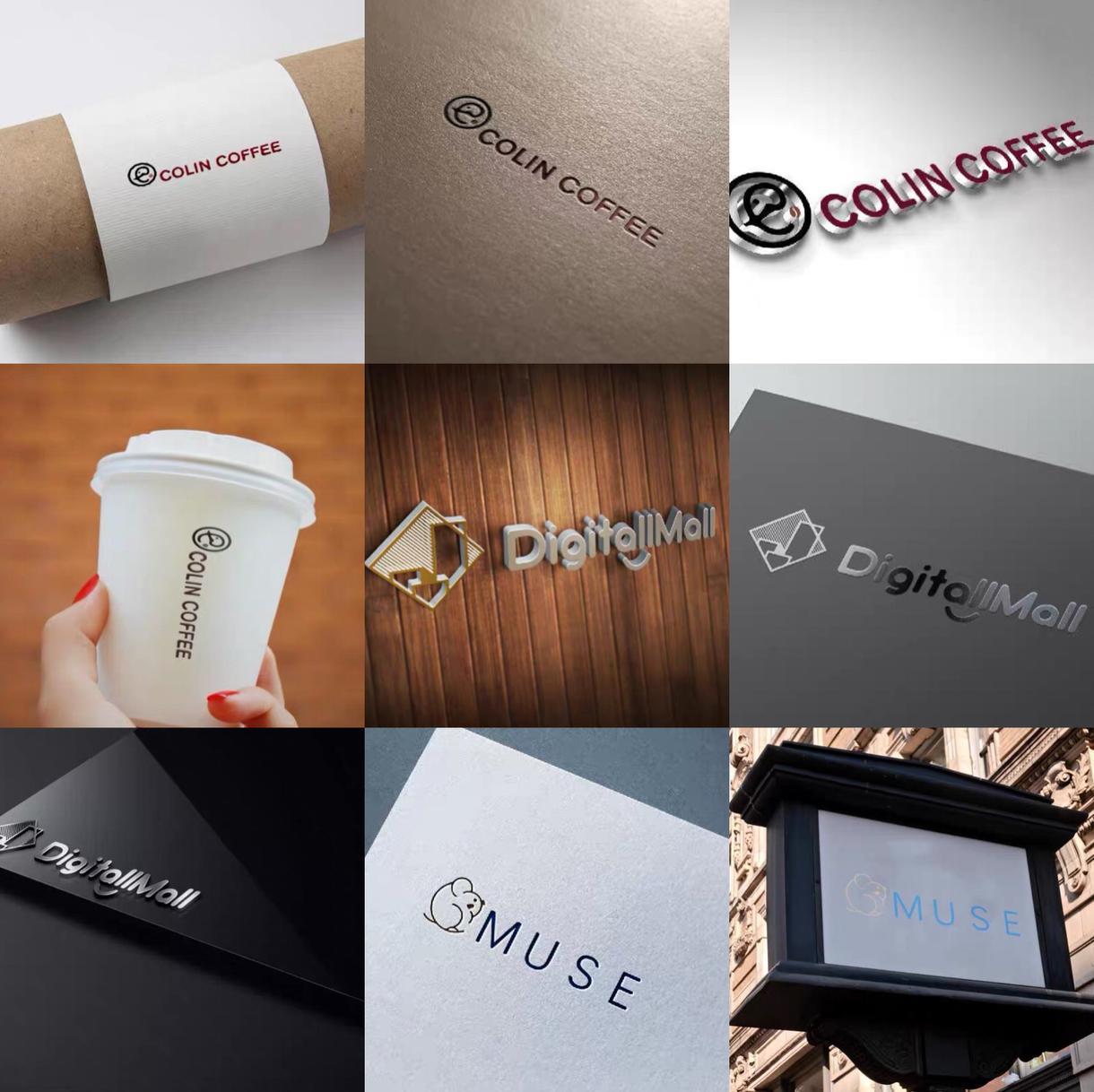 ロゴ・名刺・パンフレットなど色々デザインします 大切なロゴを心を込めてご提案いたします。