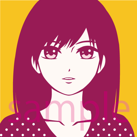 イラスト、アイコン描きます 似顔絵、簡単なGIFも可能です
