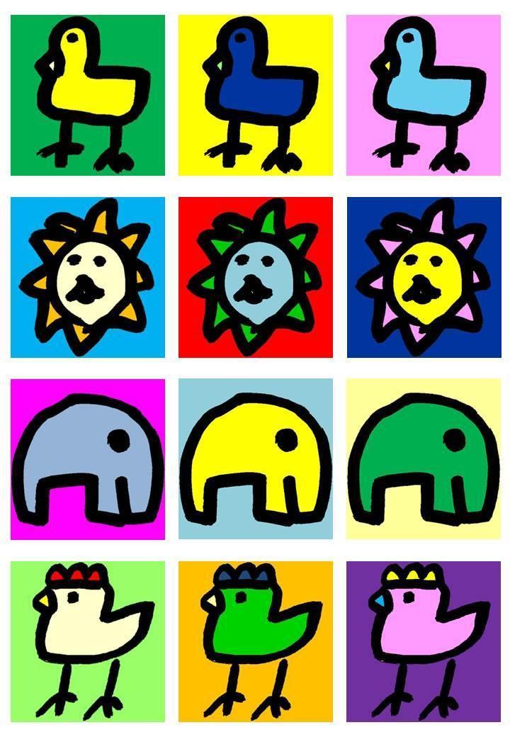 お子様のイラストをアート画像ファイルにします お子様の手書きの単色の線画をカラーアートにします イメージ1